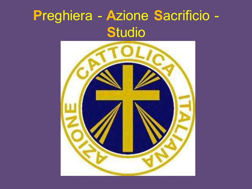 Preghiera - Azione Sacrificio - Studio