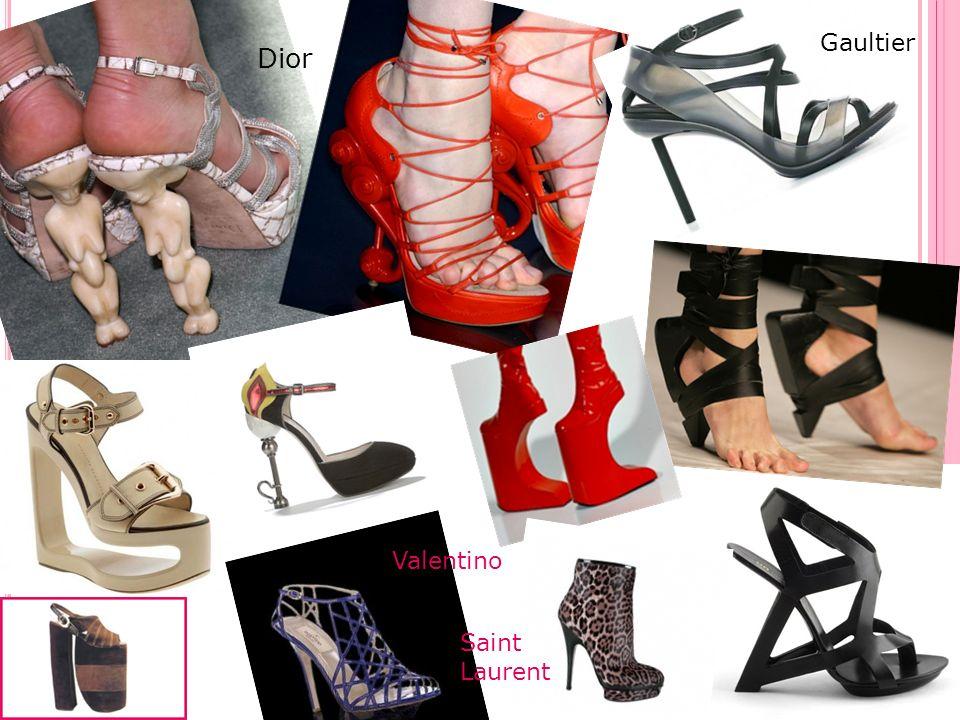 Gaultier Dior Valentino Saint Laurent