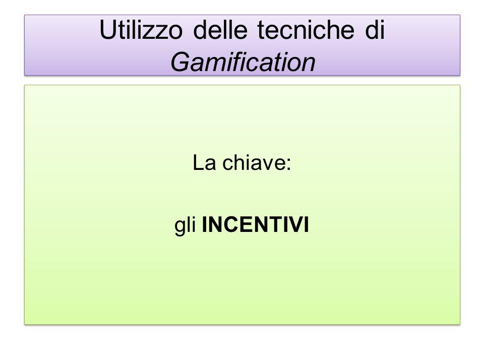 Utilizzo delle tecniche di Gamification
