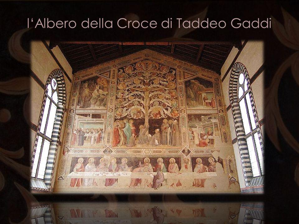 l'Albero della Croce di Taddeo Gaddi
