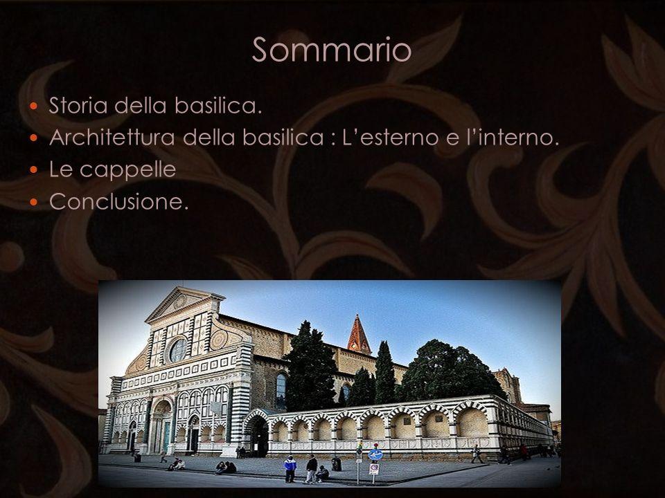 Sommario Storia della basilica.
