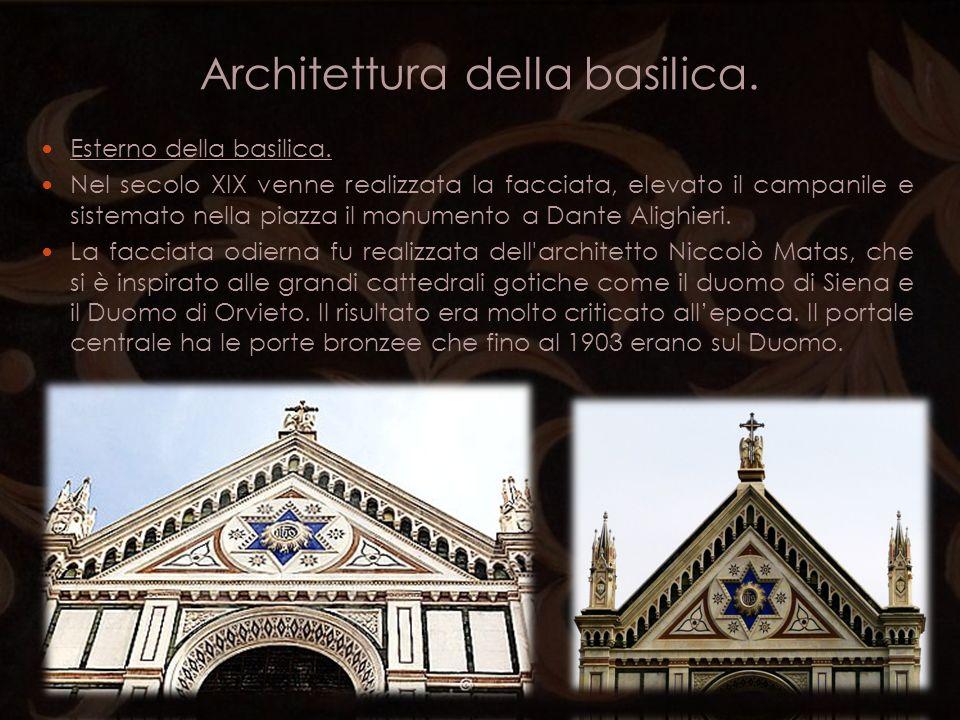 Architettura della basilica.