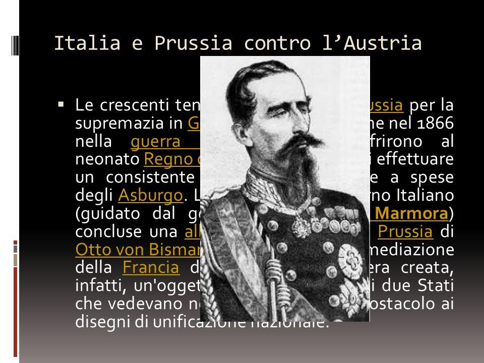 Italia e Prussia contro l'Austria