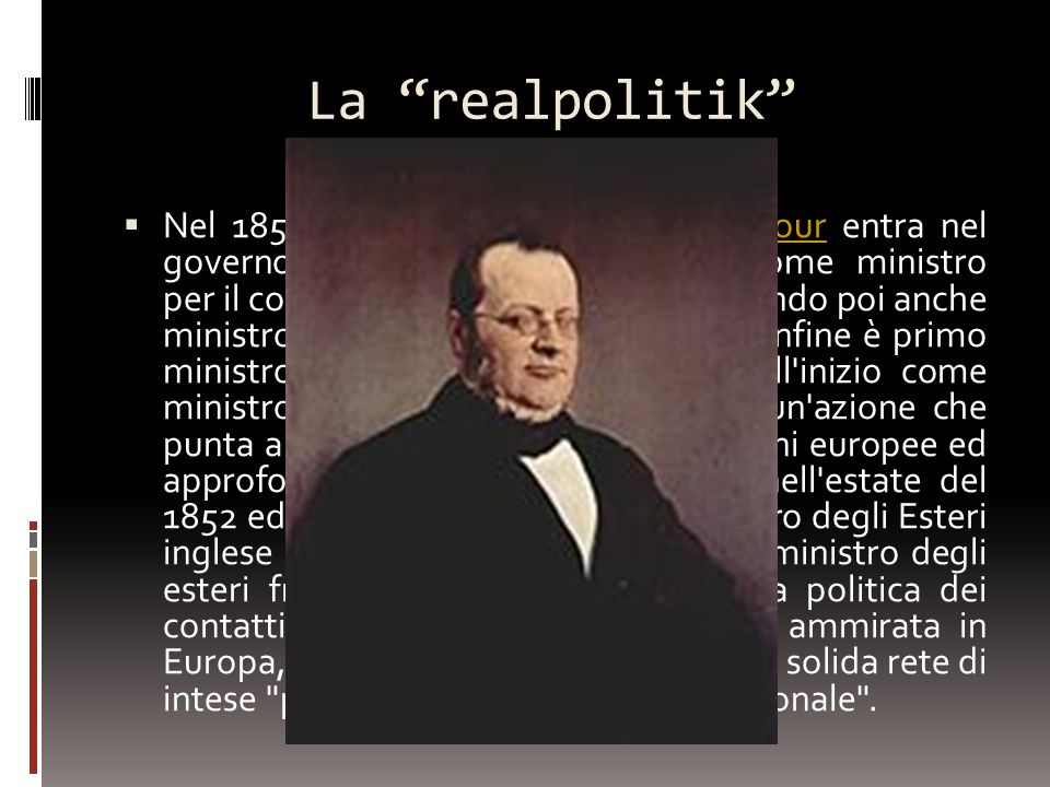 La realpolitik