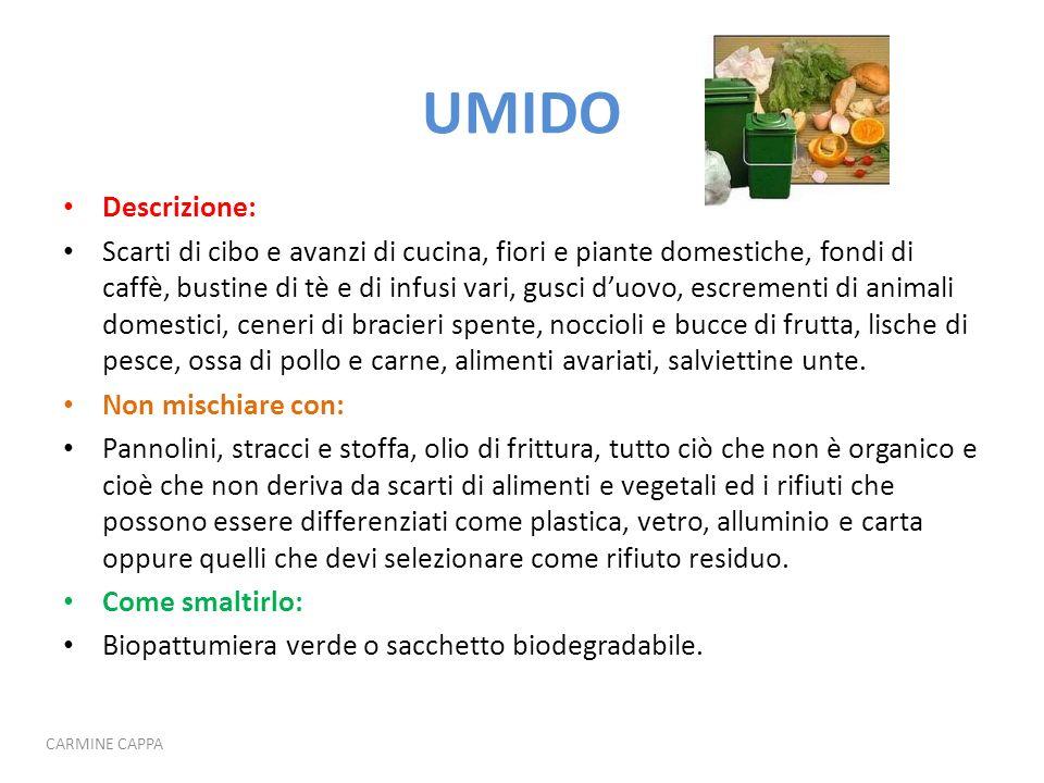 UMIDO Descrizione: