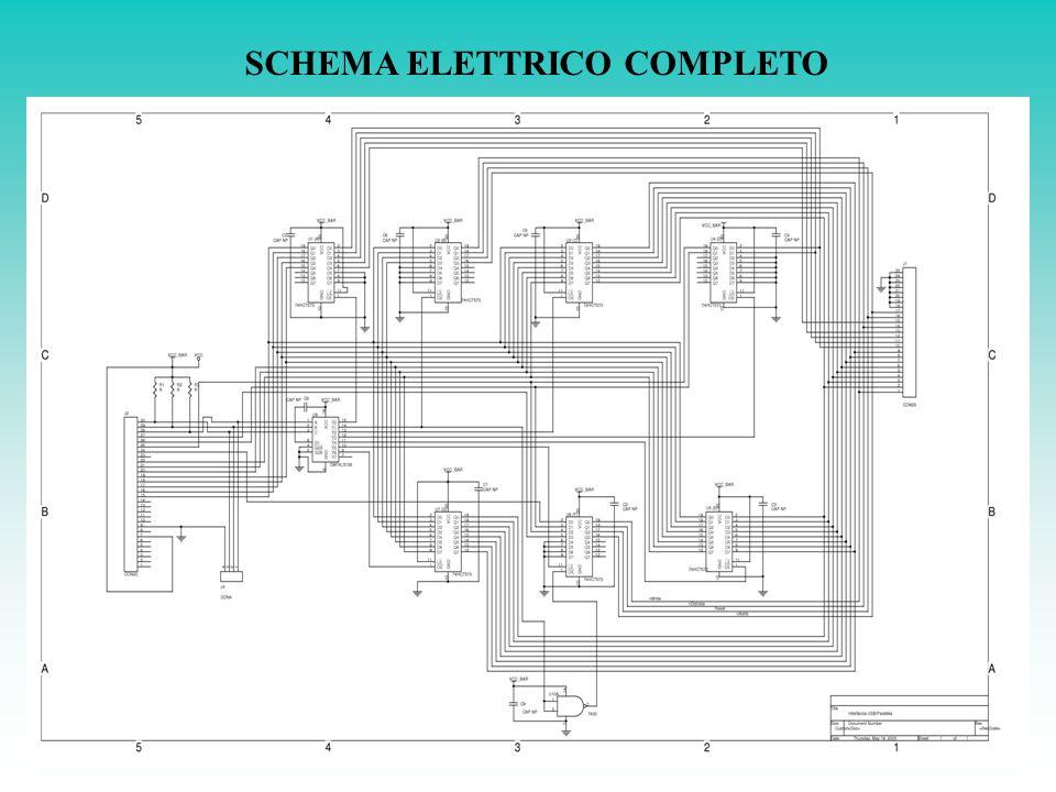 SCHEMA ELETTRICO COMPLETO