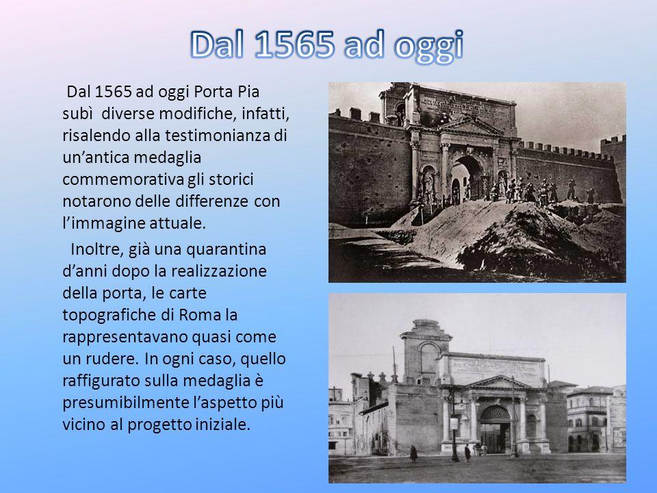 Dal 1565 ad oggi