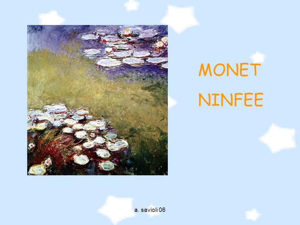 MONET NINFEE a. savioli 06