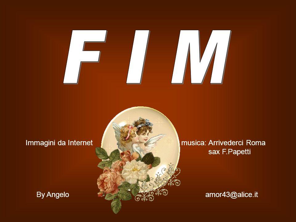 F I M Immagini da Internet musica: Arrivederci Roma sax F.Papetti