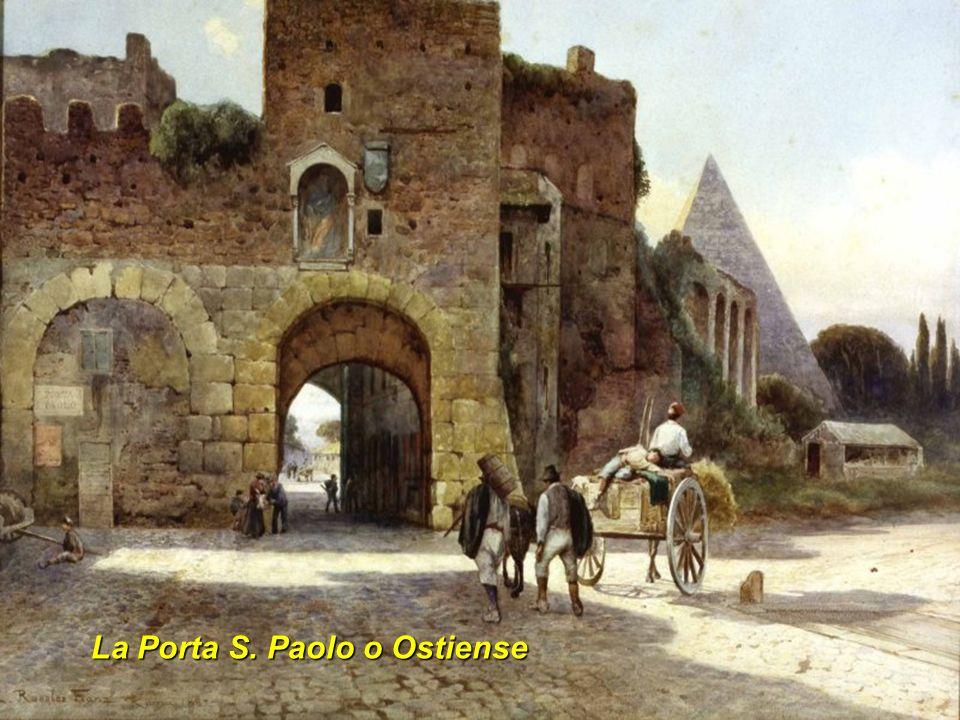 La Porta S. Paolo o Ostiense