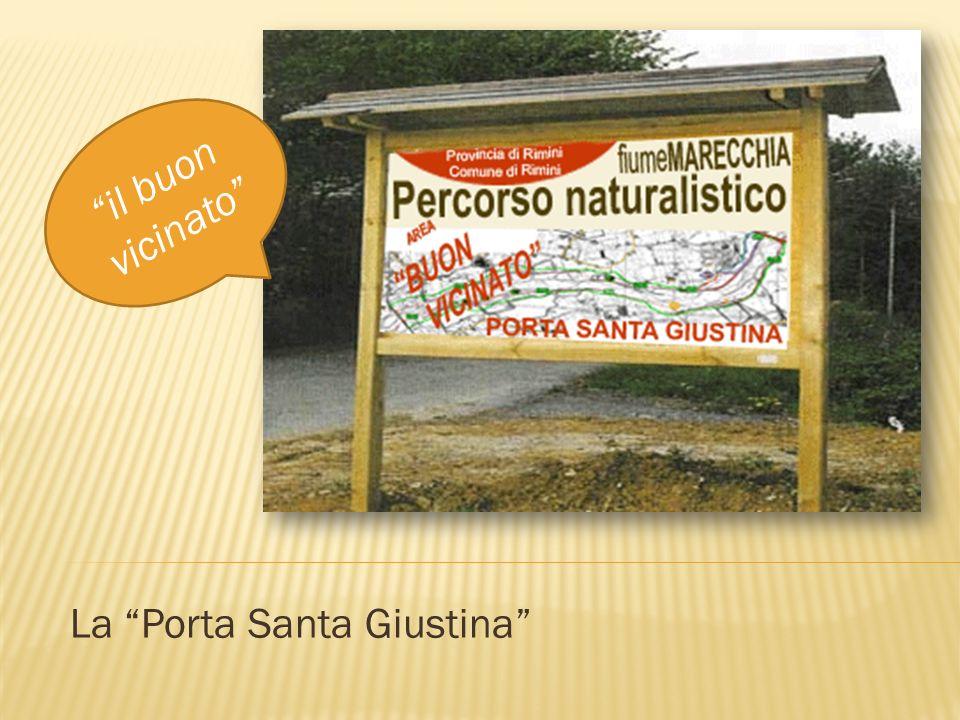 La Porta Santa Giustina