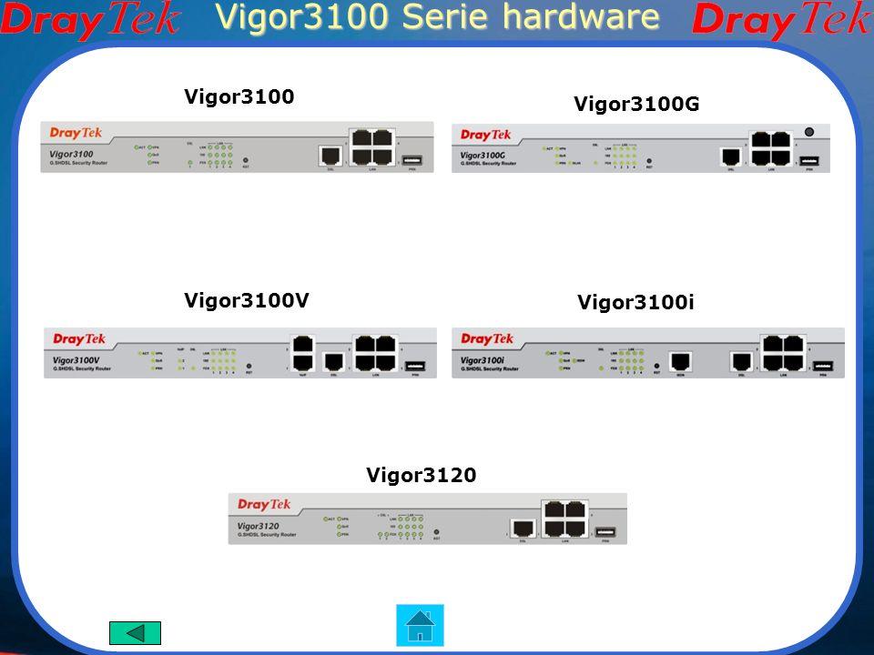 Vigor3100 Serie hardware Vigor3100 Vigor3100G Vigor3100V Vigor3100i