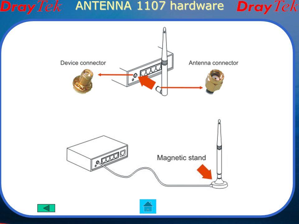 ANTENNA 1107 hardware