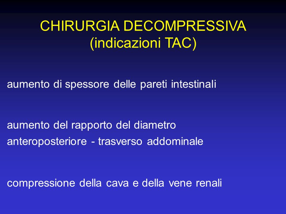CHIRURGIA DECOMPRESSIVA
