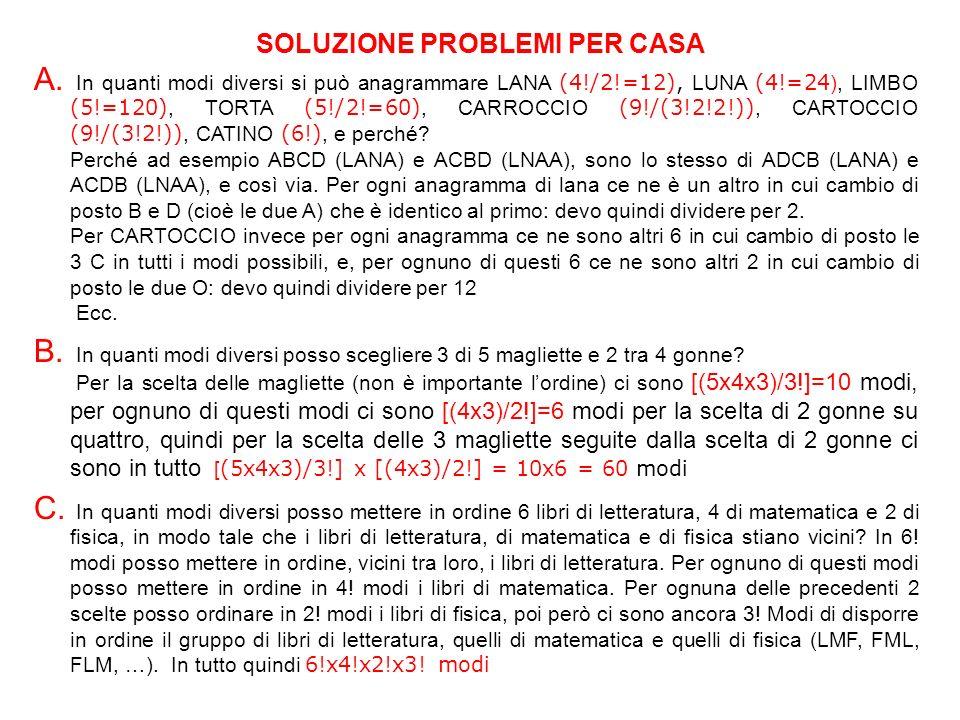 SOLUZIONE PROBLEMI PER CASA