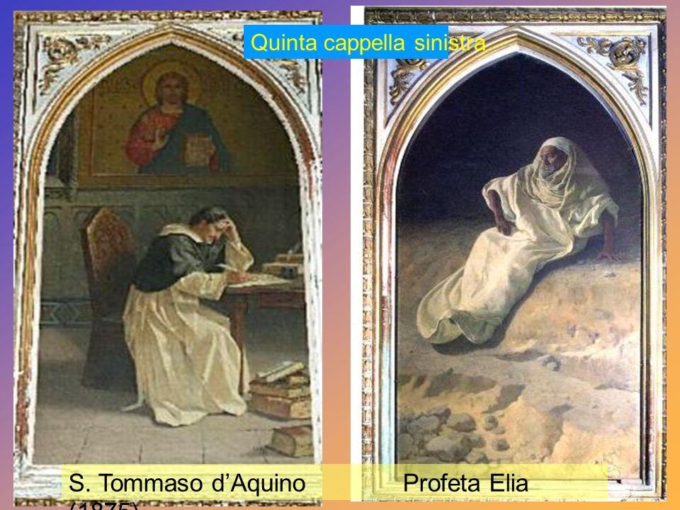 S. Tommaso d'Aquino Profeta Elia (1875)