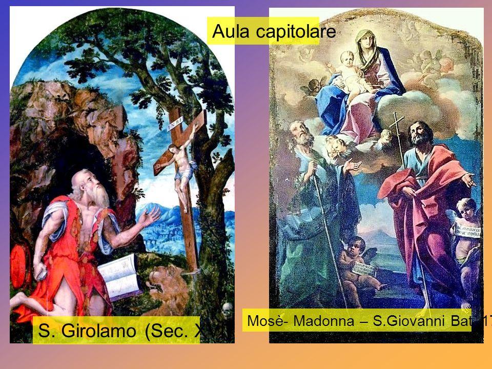 Aula capitolare S. Girolamo (Sec. XVI)