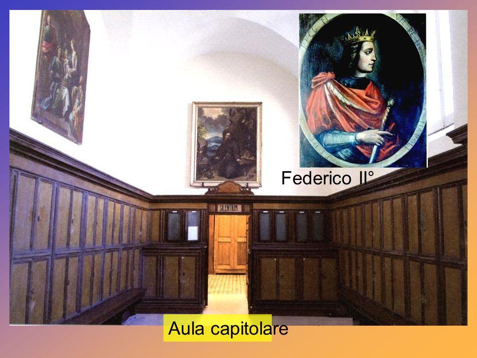 Federico II° Aula capitolare