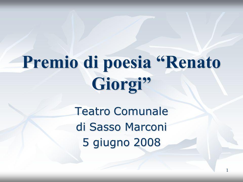 Premio di poesia Renato Giorgi