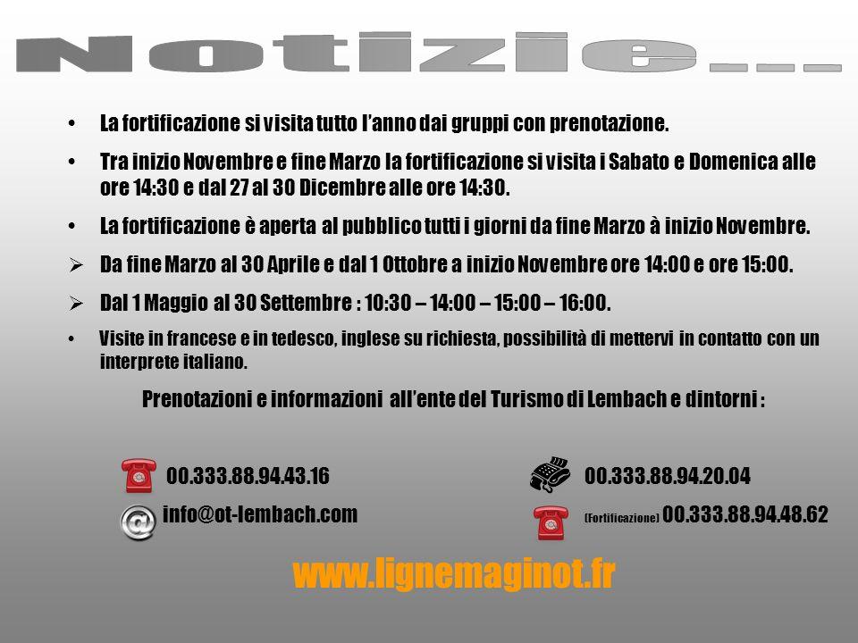 Notizie... www.lignemaginot.fr