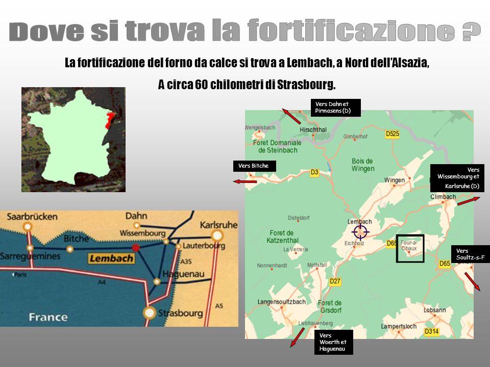Dove si trova la fortificazione