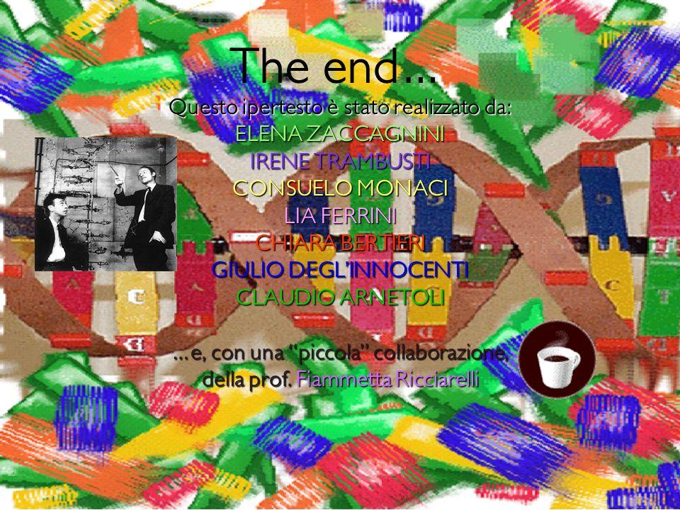 The end… Questo ipertesto è stato realizzato da: ELENA ZACCAGNINI