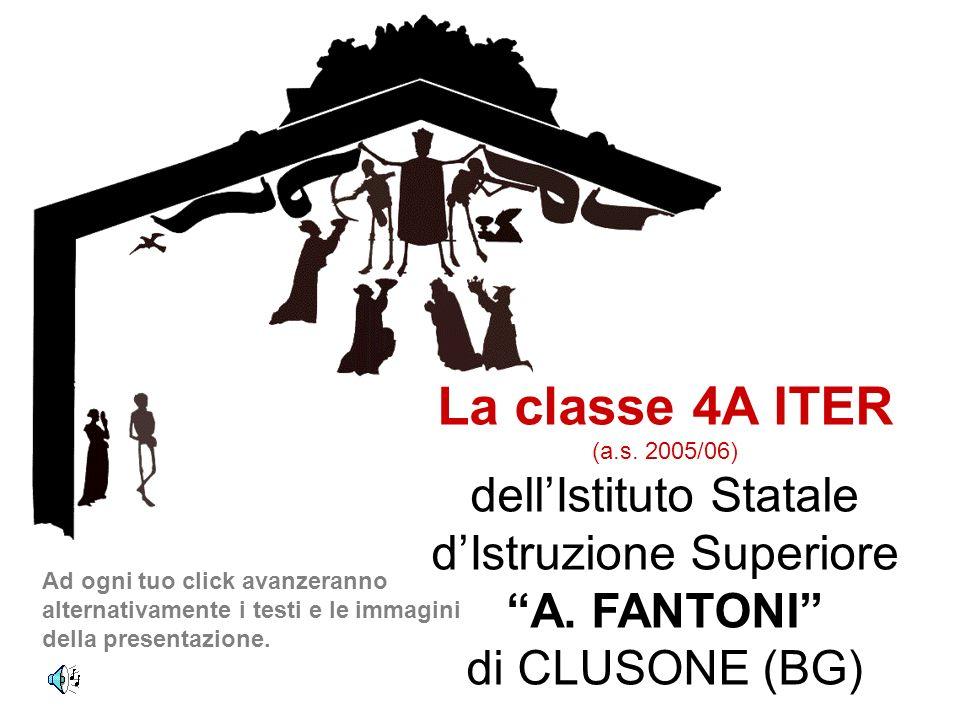 La classe 4A ITER dell'Istituto Statale d'Istruzione Superiore