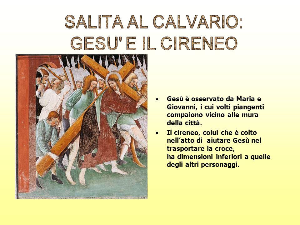SALITA AL CALVARIO: GESU E IL CIRENEO