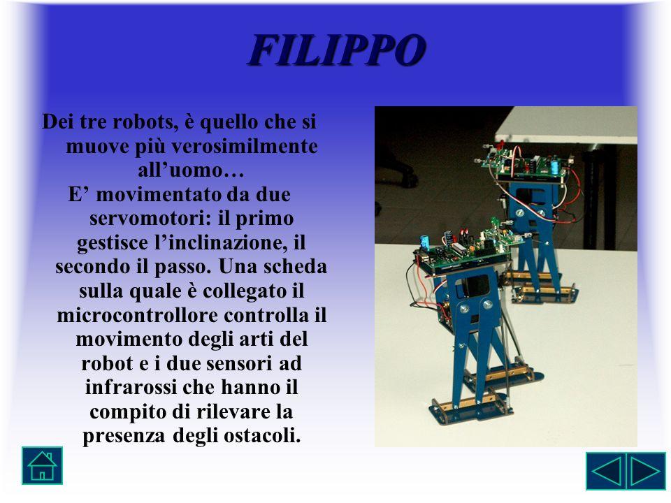 Dei tre robots, è quello che si muove più verosimilmente all'uomo…