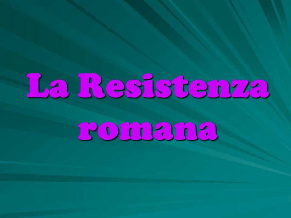 La Resistenza romana