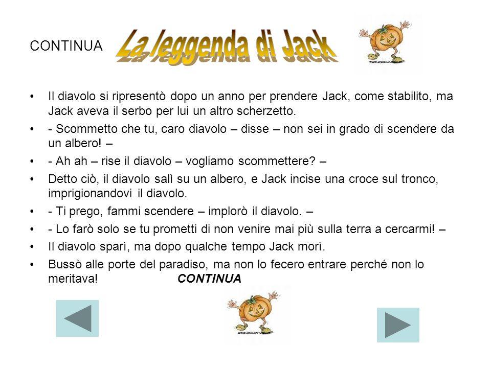 La leggenda di Jack CONTINUA