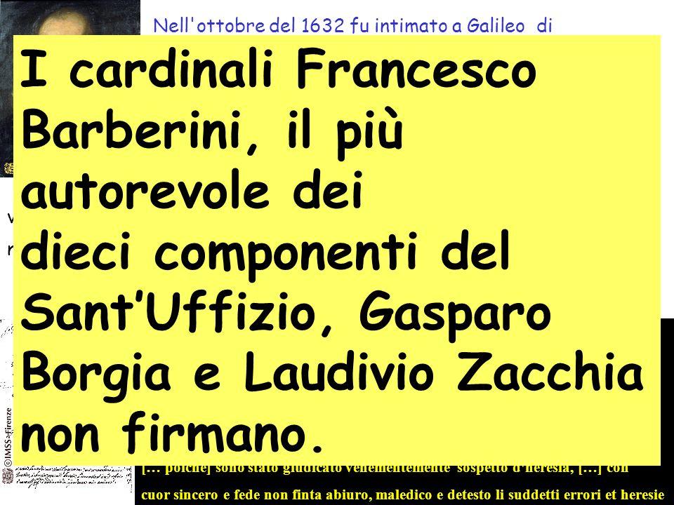 I cardinali Francesco Barberini, il più autorevole dei