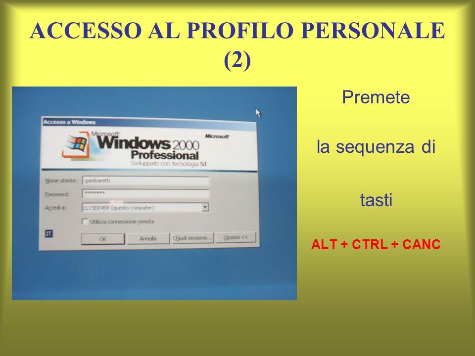ACCESSO AL PROFILO PERSONALE (2)