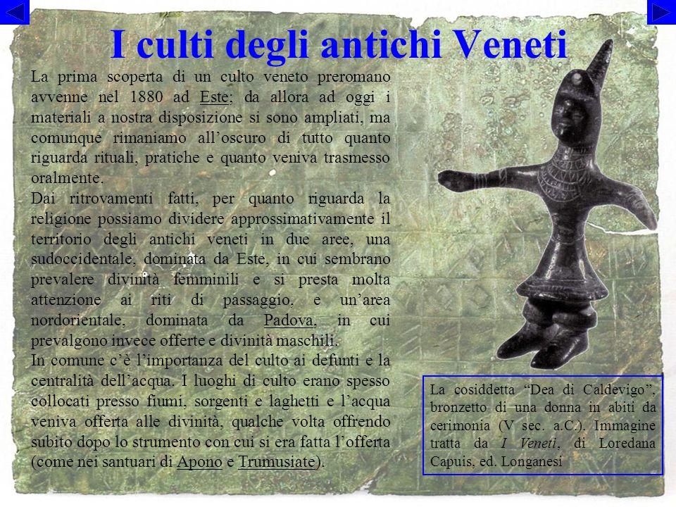 I culti degli antichi Veneti