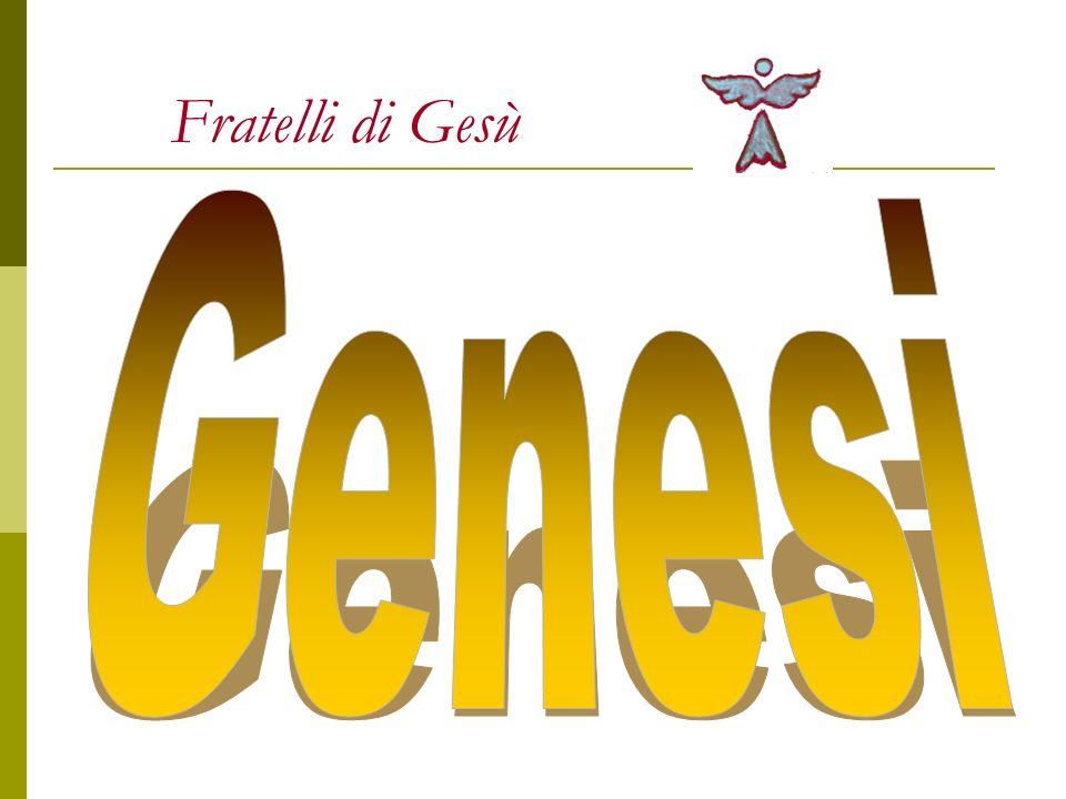 Fratelli di Gesù Genesi