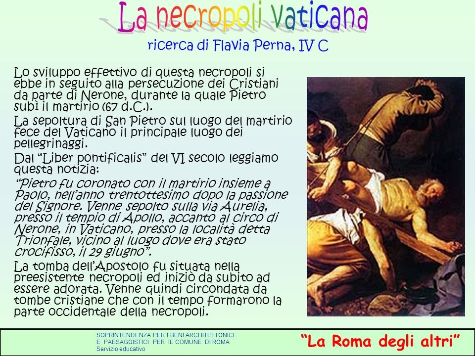 ricerca di Flavia Perna, IV C
