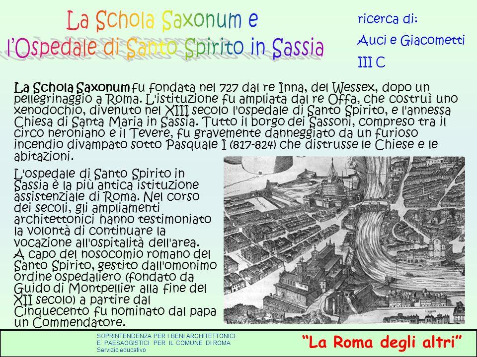 l'Ospedale di Santo Spirito in Sassia