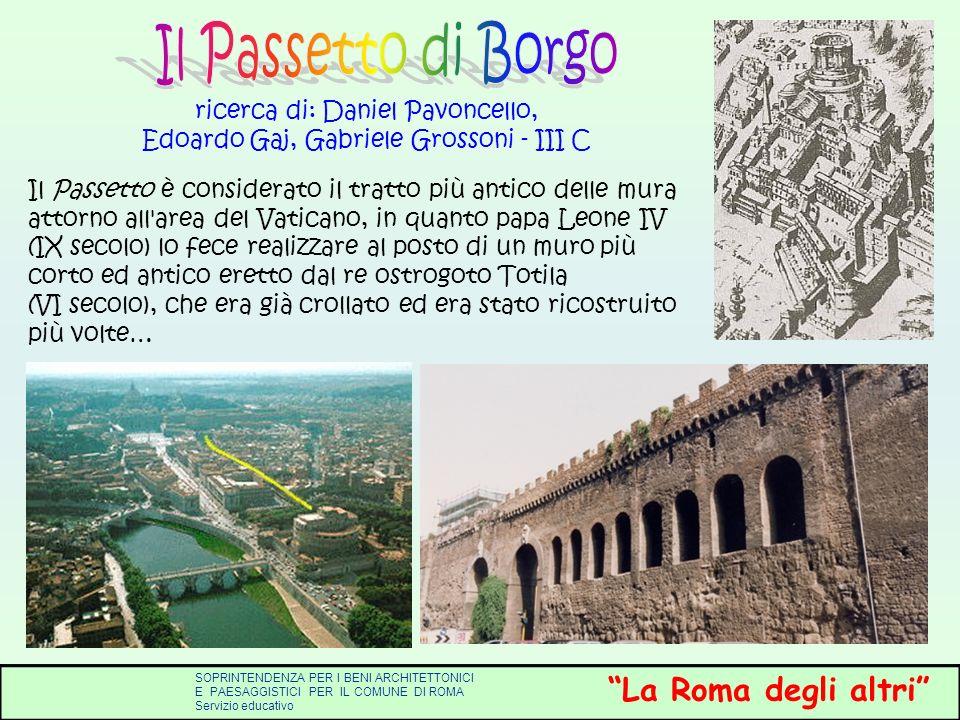 ricerca di: Daniel Pavoncello, Edoardo Gaj, Gabriele Grossoni - III C
