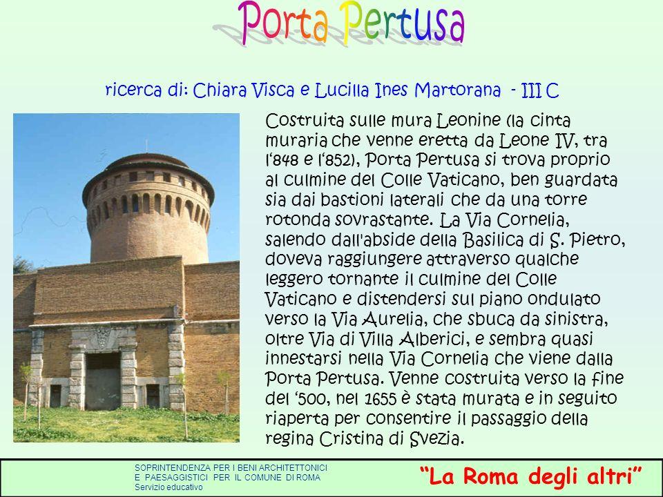 ricerca di: Chiara Visca e Lucilla Ines Martorana - III C
