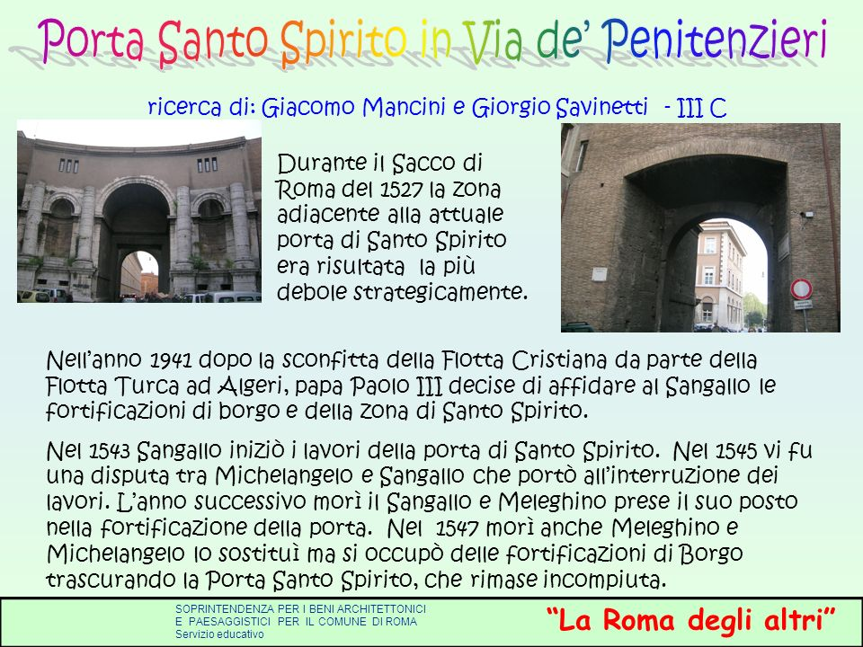 ricerca di: Giacomo Mancini e Giorgio Savinetti - III C