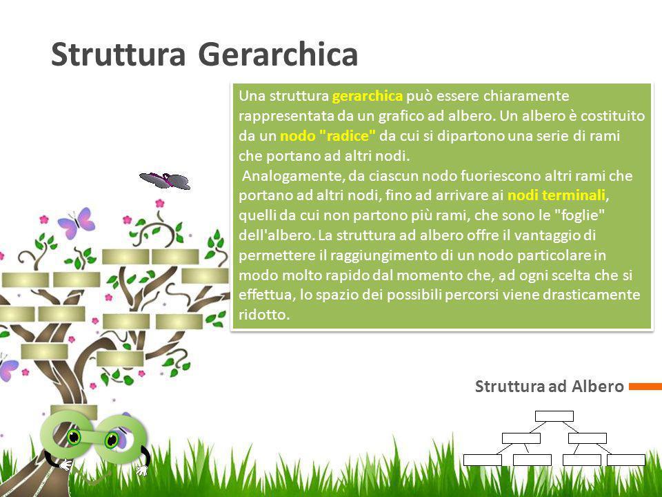 Struttura Gerarchica Struttura ad Albero