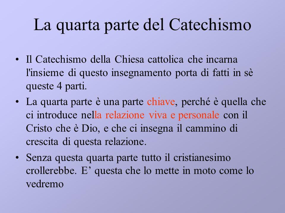 La quarta parte del Catechismo