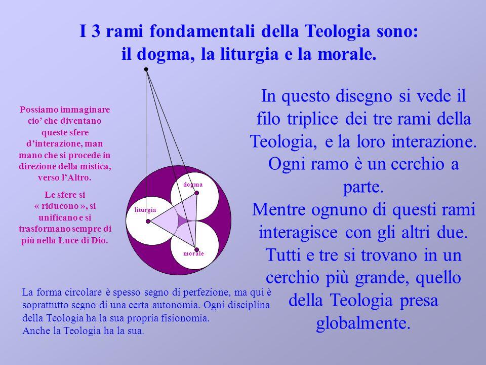 I 3 rami fondamentali della Teologia sono: