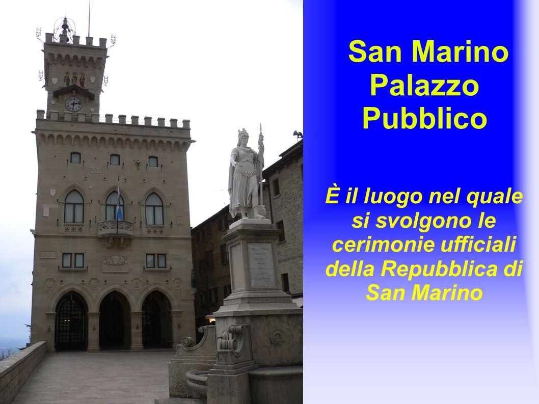 San Marino Palazzo Pubblico