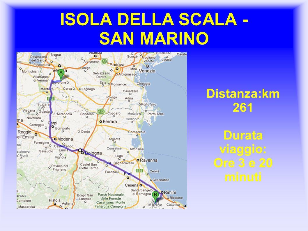 ISOLA DELLA SCALA - SAN MARINO