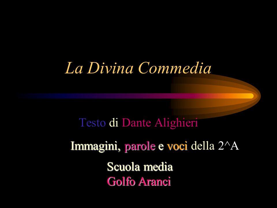 Testo di Dante Alighieri