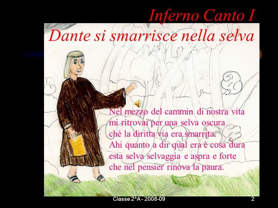 Inferno Canto I Dante si smarrisce nella selva