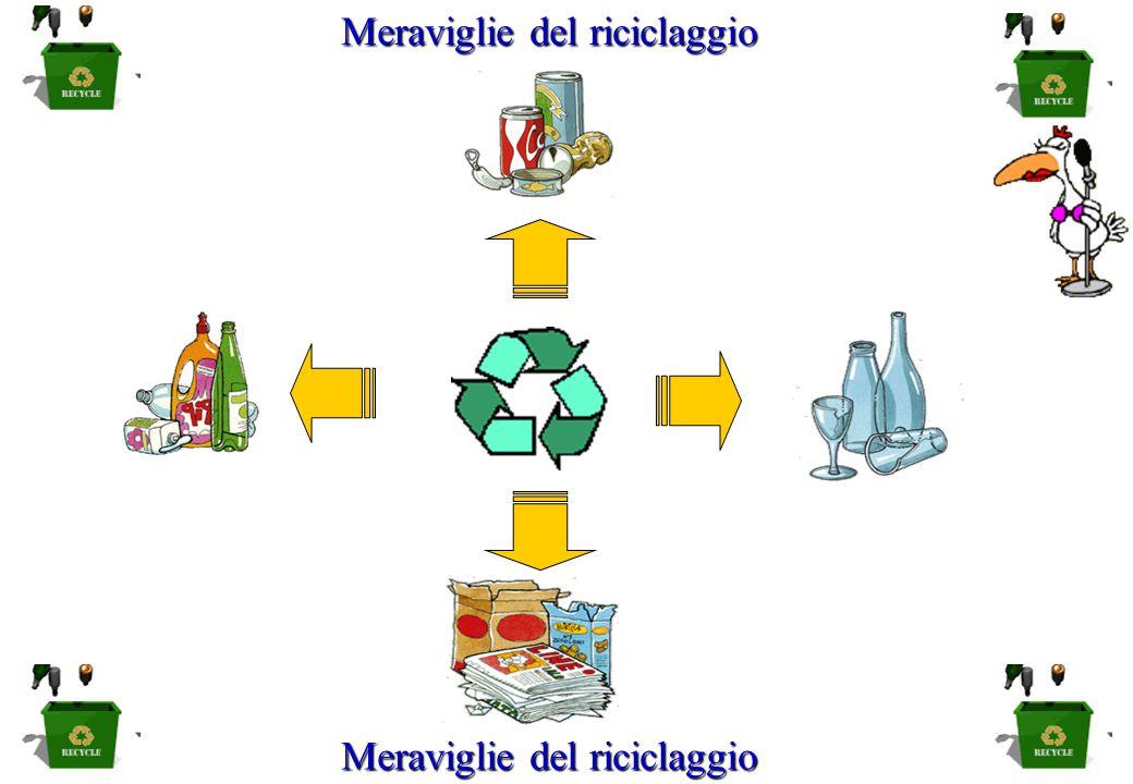 Meraviglie del riciclaggio