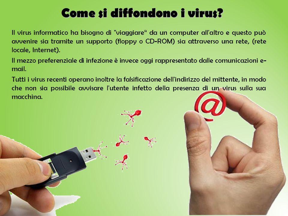 Come si diffondono i virus