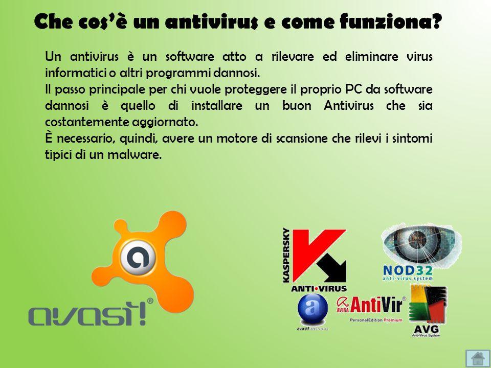 Che cos'è un antivirus e come funziona
